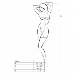 BS074R Bodystocking - Rouge