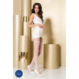 TI108 Collants 20 DEN - Blanc